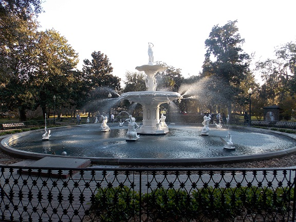 Forsyth Park fountain, Savannah